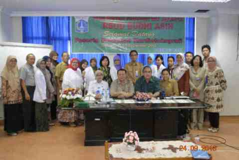 Pelatihan kardiotokografi RSUD Budhi Asih